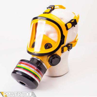 Гражданский противогаз ГП-9 желтый с фильтром под аммиак и ртуть