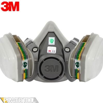 Респиратор полумаска 3M 6200 с фильтрами 6059 аммиак