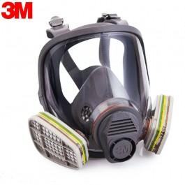 Полнолицевая маска респиратор 3M 6800 с фильтрами 6057