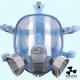 Полнолицевая маска респиратор Stalker с химическими фильтрами