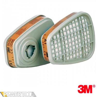 Фильтра для респиратора 3M 6051