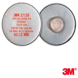 Фильтра для респиратора 3M 2138 от пыли