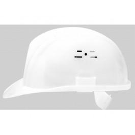 Защитная каска строителя Белая