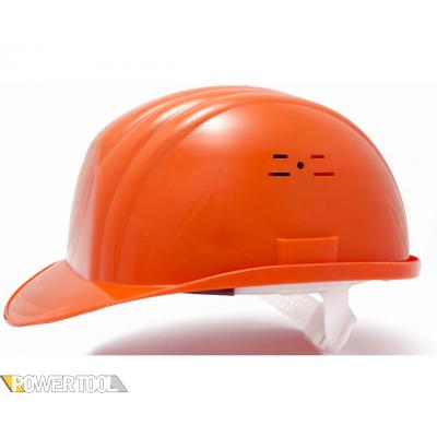 Защитная каска строителя оранжевая
