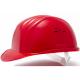 Защитная каска строителя красная