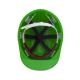 Защитная каска строителя зеленая