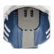 Каска-бейсболка ударопрочная со светоотражающей лентой (цвет  сине-жёлтый)