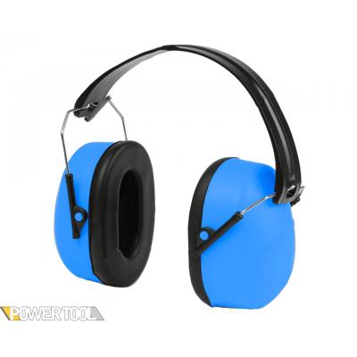 Наушники строительные с шумоподавлением SNR 26 dB складные с металлическими дужками