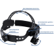 Сварочная маска Optech S777C череп в огне