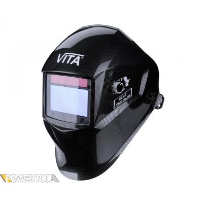Сварочная маска TIG 3-A TrueColor черные металлические соты