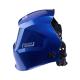 Сварочная маска TIG 3-A Pro TrueColor синие металлические соты