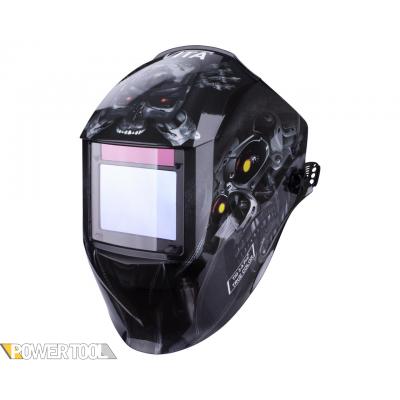 Сварочная маска TIG 3-A Pro TrueColor черный робот