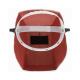 Маска сварщика фибра-картон 1 мм красный цвет