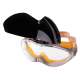 Очки защитные Provide (линза не потеющая ПК стекло, антицарапина, плюс линза DIN6)