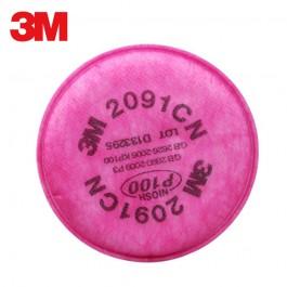 Фильтра для респиратора 3M 2091 P100