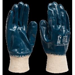Рабочие перчатки МБС покрытые нитрилом мягкий эластичный манжет