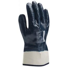 Рабочие перчатки МБС покрытые нитрилом тв. манжет
