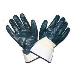 Рабочие перчатки  МБС с крагой неполная заливка