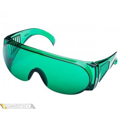 Защитные очки Озон Лазер зелёные