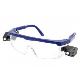 Защитные очки Комфорт LED Plus линза ПК прозрачная