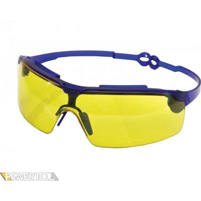 Защитные очки Драйвер жёлтые поворотные