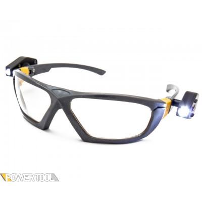 Защитные очки с 2-мя фонариками (линза ПК)