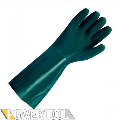 Защитные перчатки Doloni ПВХ облив