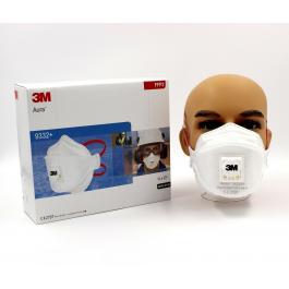 Защитный респиратор 3м 9332 FFP3 (99,9% ПДК)