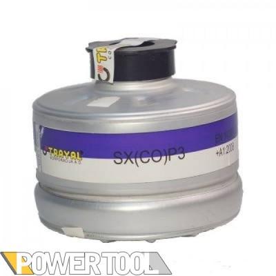 Фильтр для противогаза Trayal SX(CO) P3 угарный газ