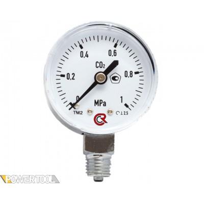 Манометр углекислотный (0-1 МПа)