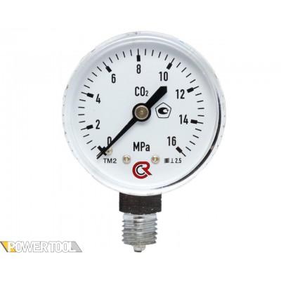 Манометр углекислотный (0-16 МПа)