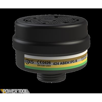 Фильтр для противогаза BLS 424 - ABEK1P3 R