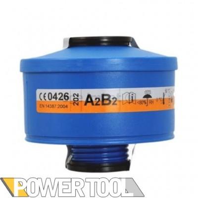 Фильтр для противогаза  Spasciani - A2B2 пары газы